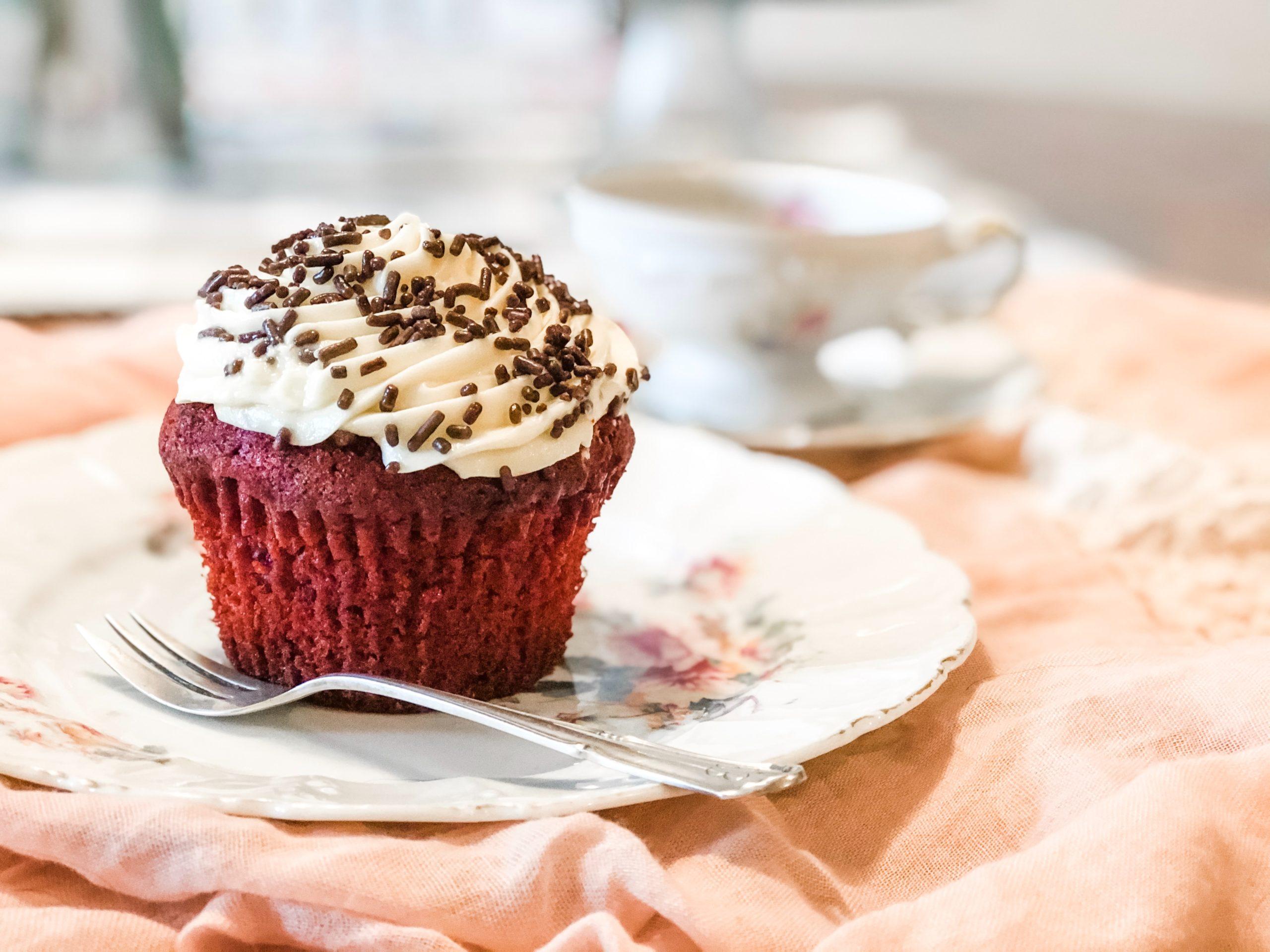 Valentine's Day Cannabis Cupcakes
